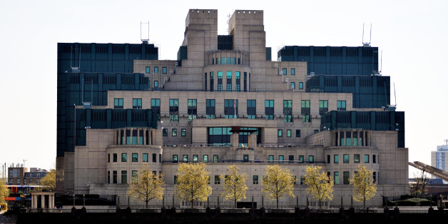 General view of the Secret Intelligence Service building at Vauxhall, London.