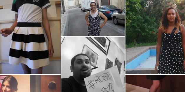 Plusieurs personnes sur les réseaux sociaux ont manifesté leur solidarité en portant des robes