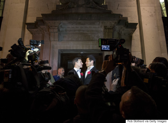 london gay marriage