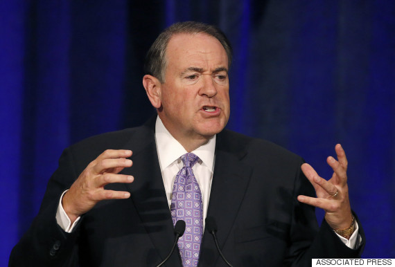 mike huckabee angry