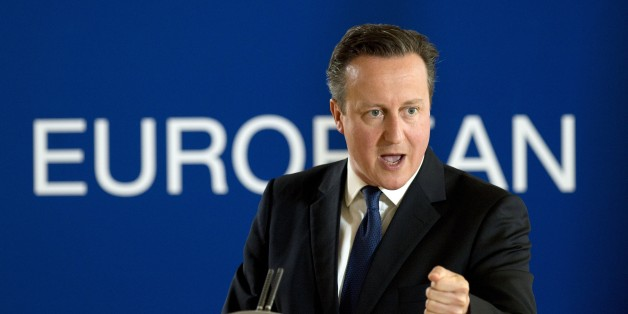 British prime minister David Cameron speaks during a press conference, on the second and final day of an EU summit at the EU Headquarters in Brussels on June 26, 2015.   British Prime Minister David Cameron he believed he could secure 'new and different' ties with the EU after launching a bid for reforms ahead of a referendum on whether to leave the bloc.  AFP PHOTO/ ALAIN JOCARD        (Photo credit should read ALAIN JOCARD/AFP/Getty Images)