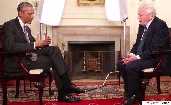 obama attenborough interview