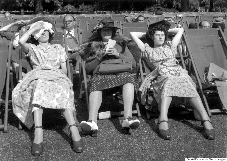 hyde park sunbathers
