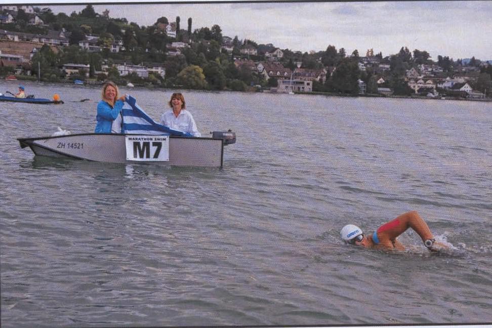 open sea swimming champions