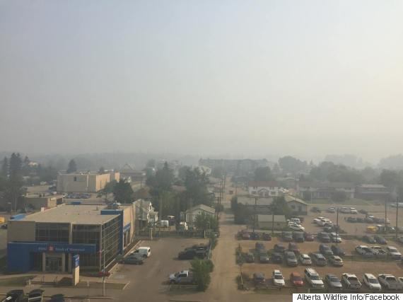 fort mcmurray smoke