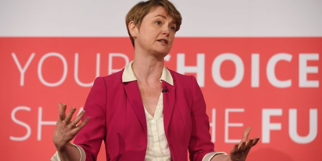 Labour leadership contender Yvette Cooper during a Labour Leadership and Deputy Leadership Hustings at the East Midlands Conference Centre in Nottingham.