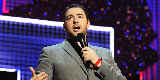 LONDON, ENGLAND - MARCH 06:  Jason Manford performs onstage for 'Give It Up For Comic Relief' at Wembley Arena on March 6, 2013 in London, England.  (Photo by Dave J Hogan/Getty Images)