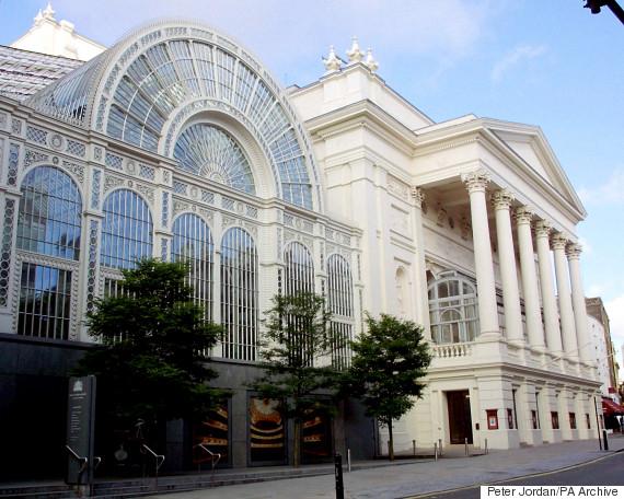 royal opera house exterior