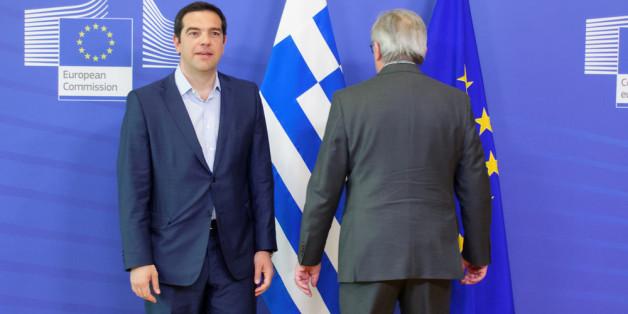 Bekommt er Hilfe von unerwarteter Seite? Griechenlands Ministerpräsident Alexis Tsipras Anfang Juni in Brüssel