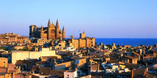Platz eins unter den Last-Minute-Urlaubern: Mallorca mit der Hauptstadt Palma