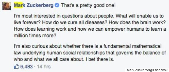 mark zuckerberg stephen hawking facebook chat