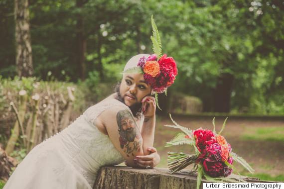 bearded bride