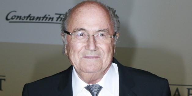 """FIFA-Präsident Sepp Blatter bei der Premiere von """"Die Mannschaft"""""""