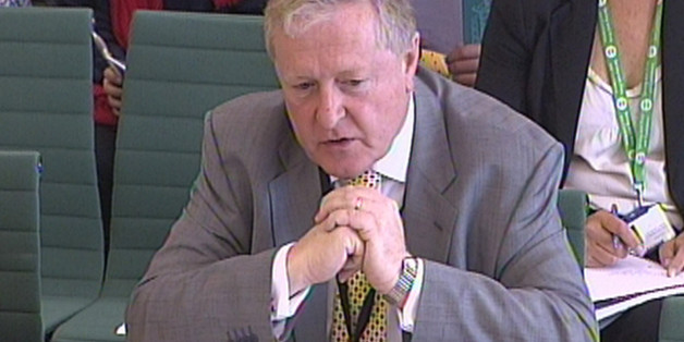 Former Metropolitan Police Commissioner Lord Ian Blair gives evidence to a Commons Home Affairs Committee in Westminster, London.