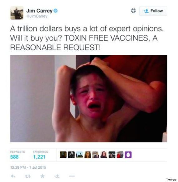 jim carrey tweet