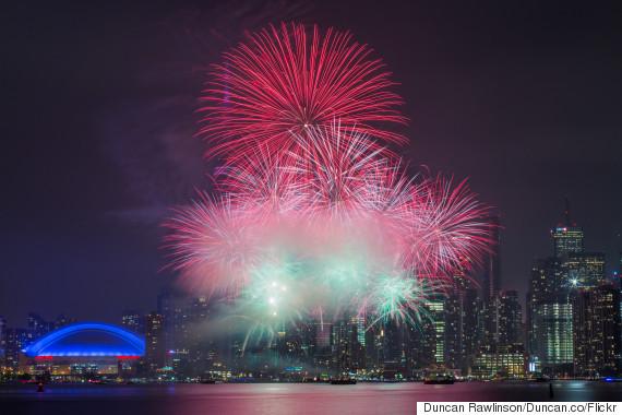 fireworks canada day 2015