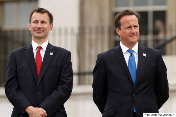 jeremy hunt david cameron