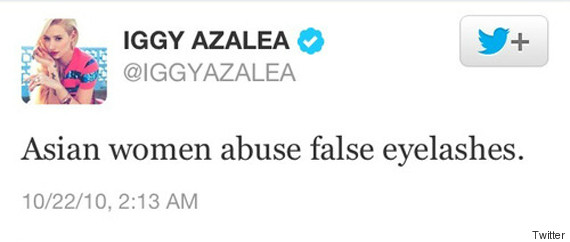 iggy azalea asian tweet