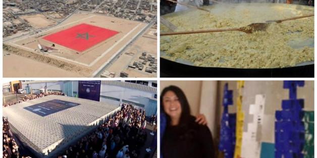 Record: Une Marocaine s'apprête à réaliser une toile de 100 mètres carrés (PHOTOS)