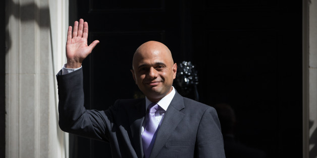 LONDON, ENGLAND - MAY 11:  Sajid Javid, the Newly appointed Secretary of State for Business, arrives at Downing Street on May 11, 2015 in London, England. Prime Minister David Cameron continued to announce his new cabinet with many ministers keeping their old positions.  (Photo by Carl Court/Getty Images)