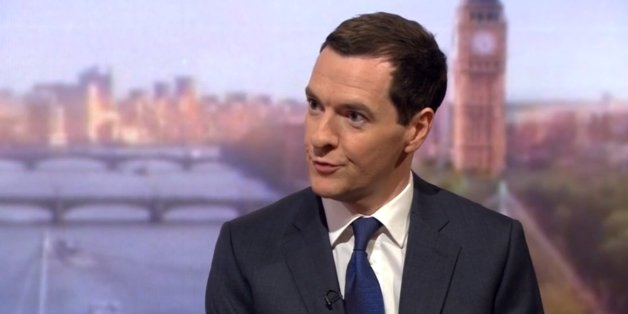 George Osborne hit out at the BBC's website today