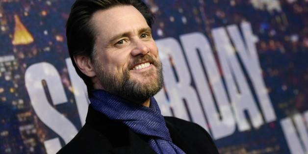 Jim Carrey attends the SNL 40th Anniversary Special at Rockefeller Plaza on Sunday, Feb. 15, 2015, in New York. (Photo by Evan Agostini/Invision/AP)