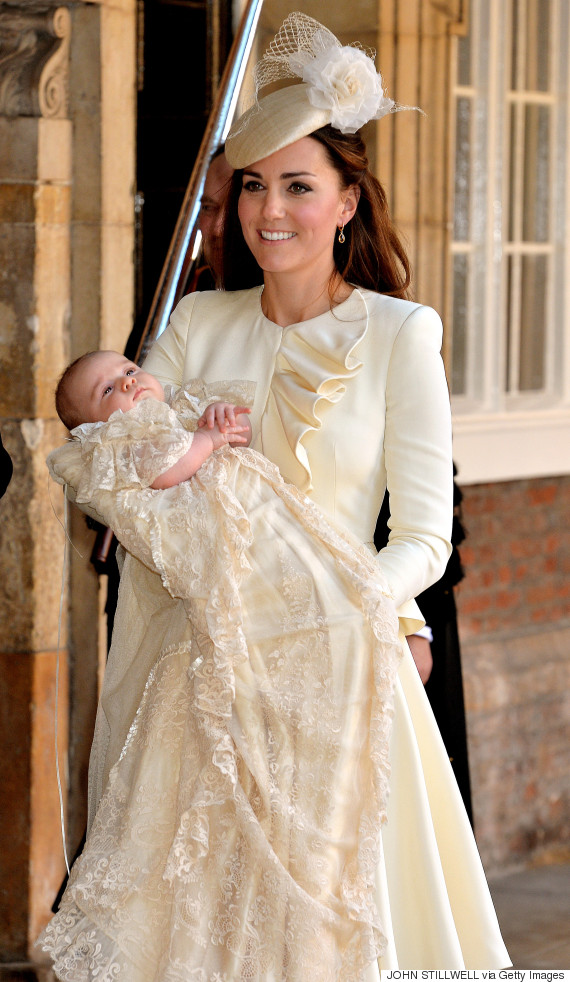 duchess of cambridge christening george