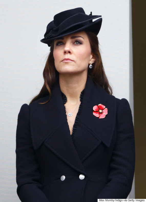 duchess cambridge remembrance