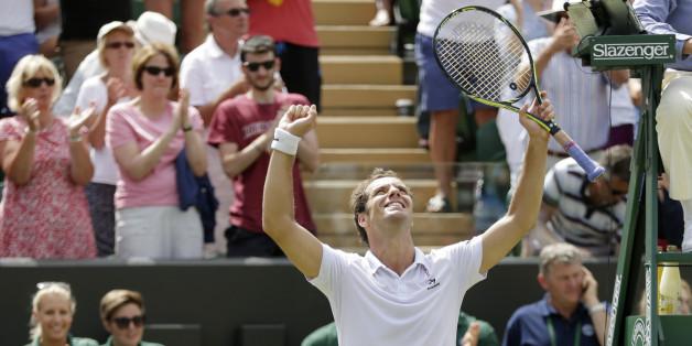 Gasquet se qualifie pour les quarts à Wimbledon