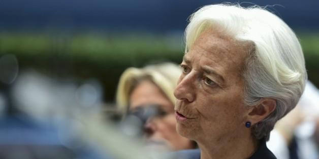La directrice générale du FMI, Christine Lagarde à Bruxelles, le 27 juin 2015