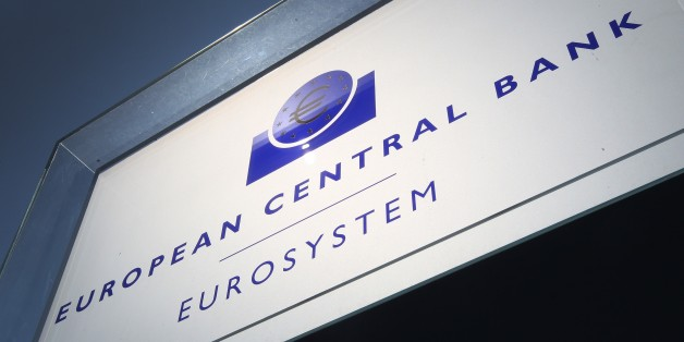 The headquarters of the European Central Bank (ECB) is seen in Frankfurt am Main, central Germany, on July 6, 2015. All eyes were on the European Central Bank following the resounding 'No' in the Greek referendum, with the ECB seen as the only institution capable of calming market panic and preventing the Greek economy from collapsing. AFP PHOTO / DANIEL ROLAND        (Photo credit should read DANIEL ROLAND/AFP/Getty Images)