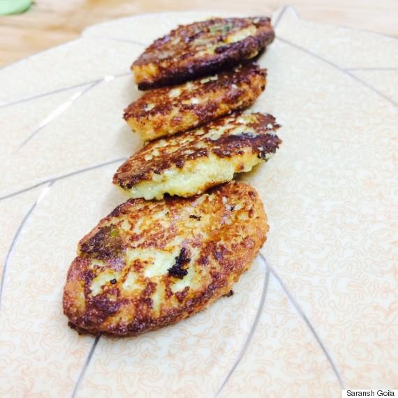 sandalwood curd kebab