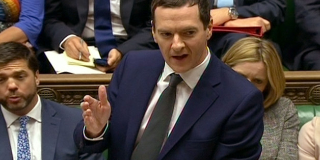 Chancellor of the Exchequer George Osborne speaks during Prime Minister's Questions in the House of Commons, London.