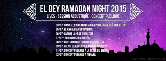 el dey ramadan nights