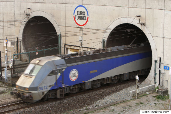 channel tunnel train
