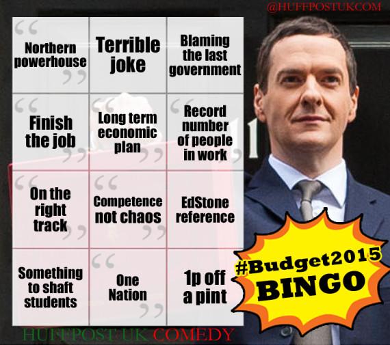 budget 2015 bingo george osborne