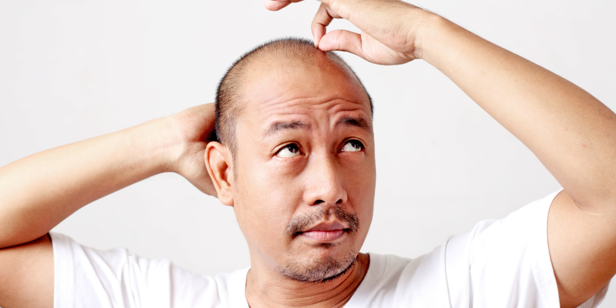 calling all bald men tips for maintaining a shiny head huffpost