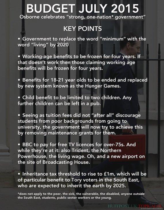 budget 2015 george osborne uk politics