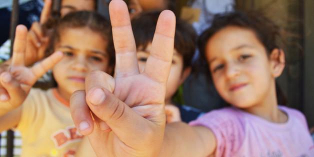 Des enfants réfugiés syriens au Liban, photo d'archive