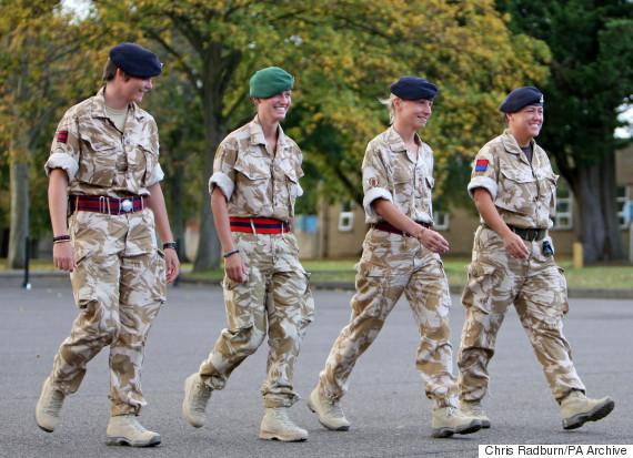 british army women soldiers
