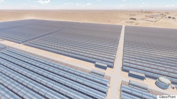 oman solar plant