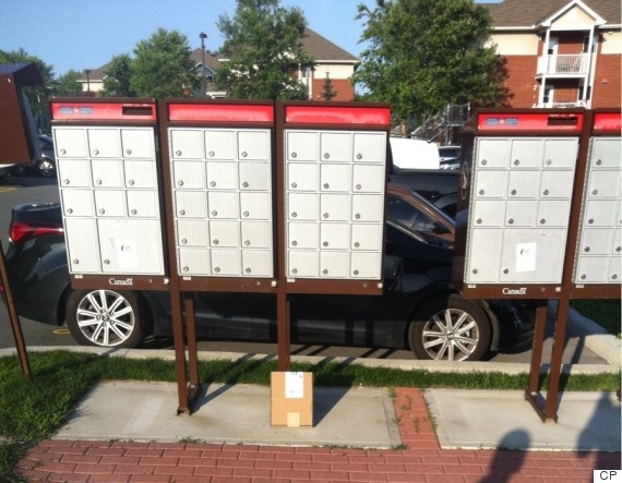 canada post delivery fail