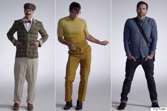 100 years men fashion