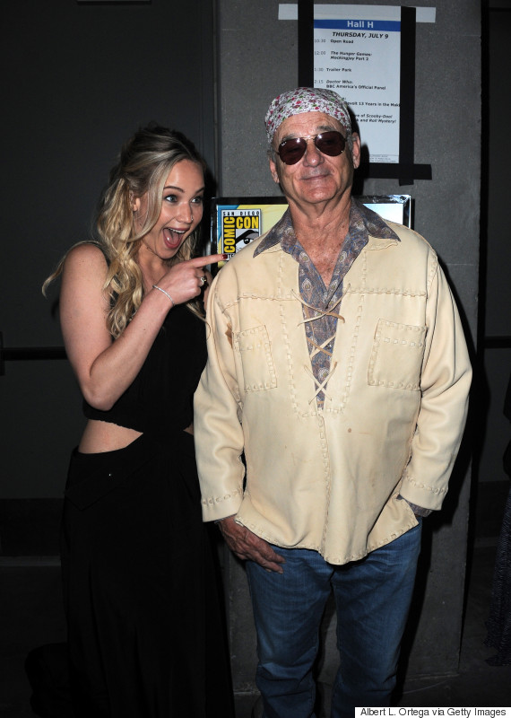 jennifer lawrence bill murray