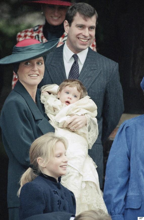 princess eugenie christen