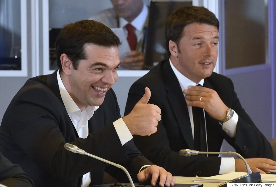 matteo renzi tsipras