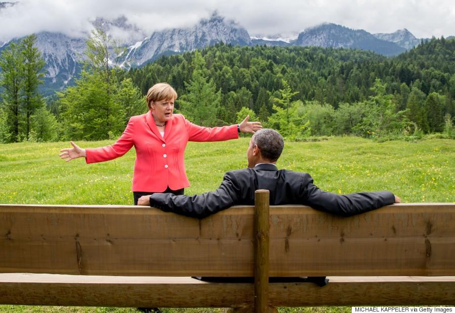 merkel obama g7