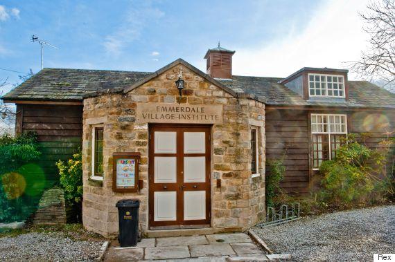 emmerdale village hall