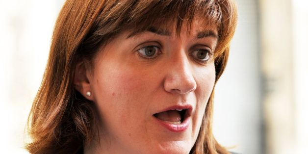 Education Secretary Nicky Morgan arrives at the Department for Education (DfE) in central London, after Prime Minister David Cameron put the finishing touches to his new cabinet earlier today.