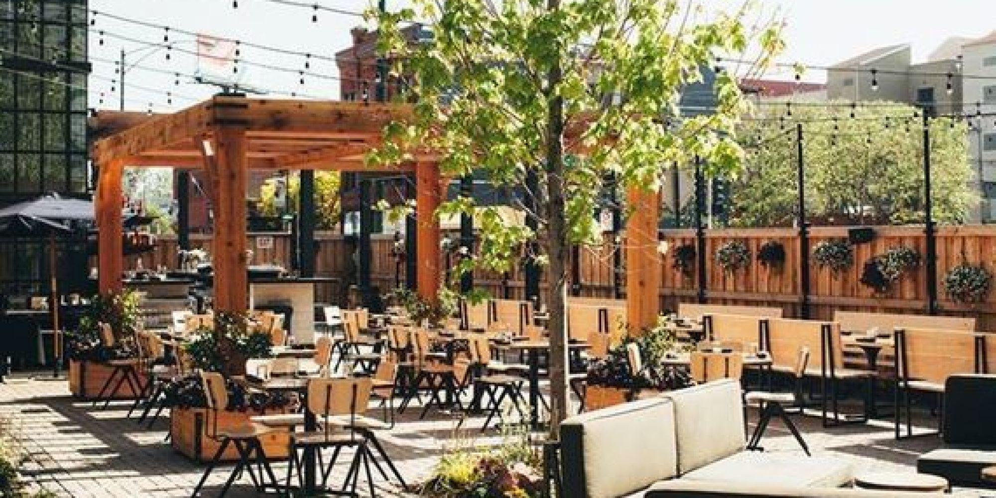 Top Ten Outdoor Dining Destinations Huffpost